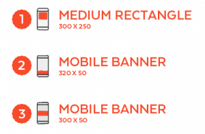 Our ads are responsive to any mobile shape thanks to the localstars platform