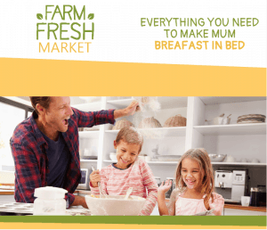 example digital ad mother's day breakfast