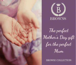 example digital ad mother's day jewellery