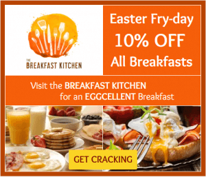 Advertise your beautiful breakfast with the Localstars ad platform