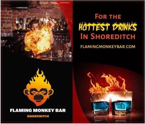 Flaming Monkey Bar