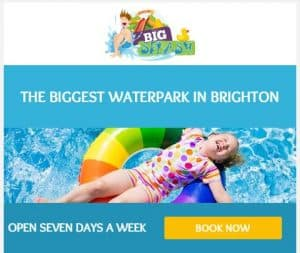 Right size water park